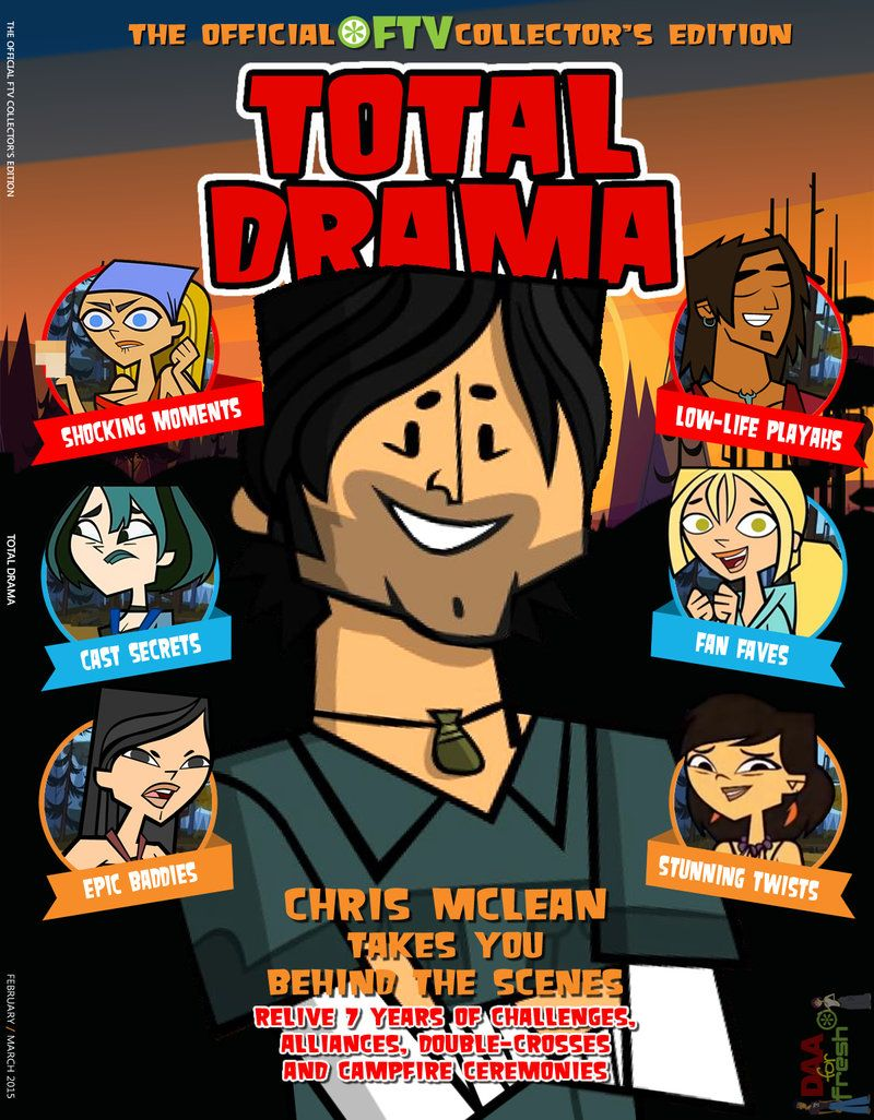 total drama ridiculous race 2015 TOTAL DRAMA Collector's