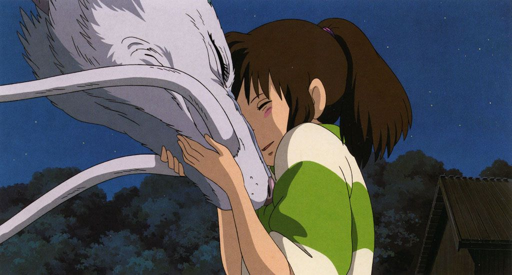 One of the most greatest love stories of all time. (Spirited Away Haku and Chihiro) way better then twilight