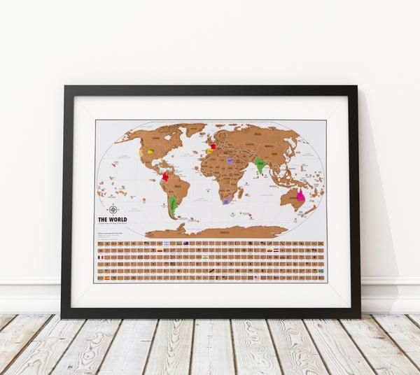 Scratch off world map with gold foil world travel tracker map free usa shipping other buying options landmasss world travel tracker map scratch off gumiabroncs Choice Image