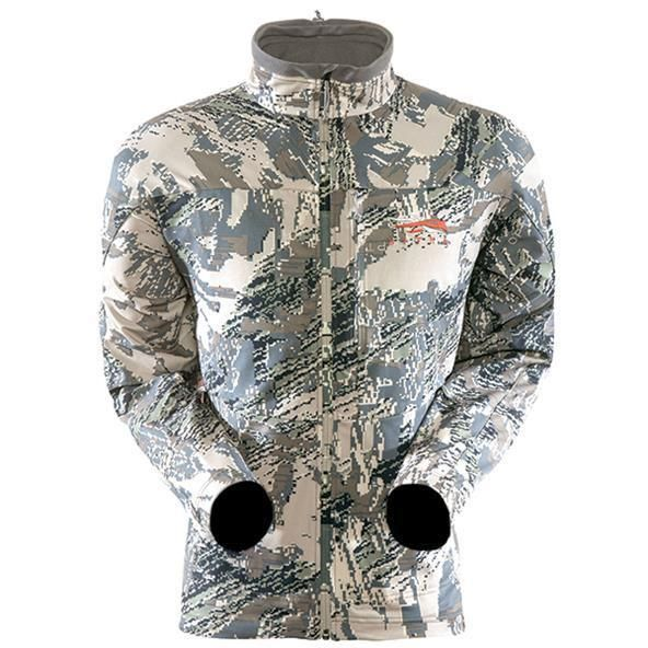 New Sitka 90/% Soft Shell Jacket Gore Optifade Open Country Camo Hunting Coat