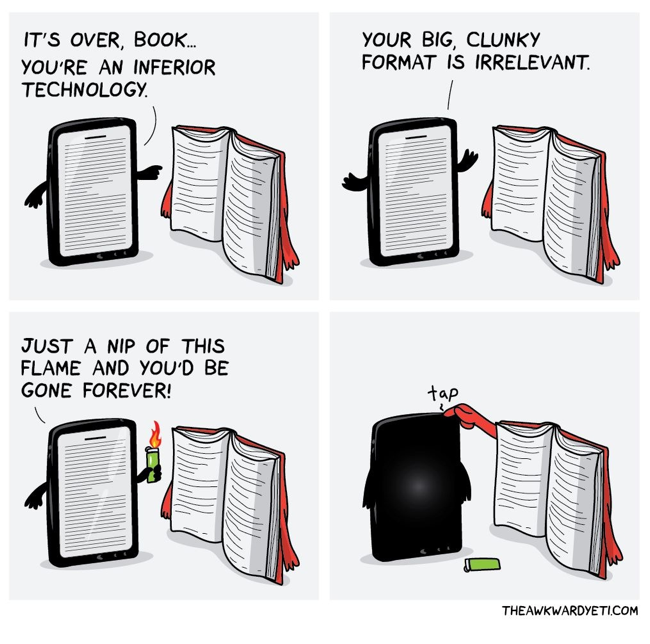 Want of Enchantment - Don't forget the magic in a book, whether eBook or not!