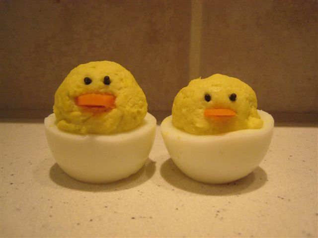 rubber ducky deviled eggs - Google Search | Katy\'s shower ...