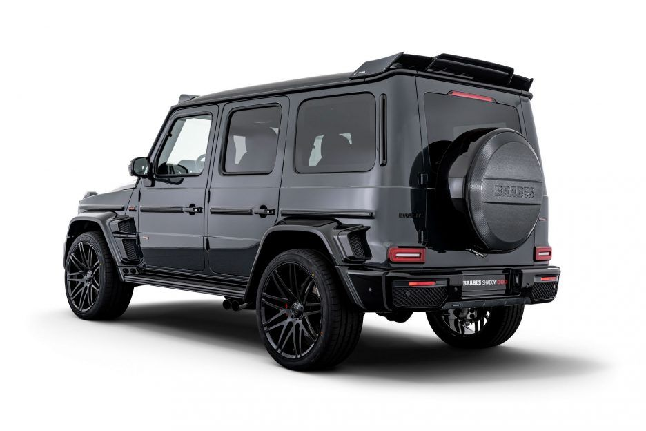 Brabus Shadow 800 Amg G63 Rear Angle View With Images Suv