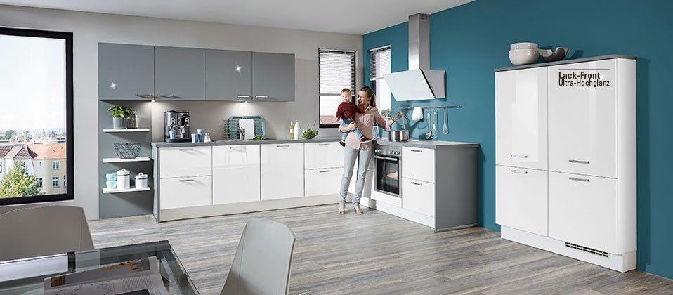 Familienküche mit viel Stauraum Haus der Küchen