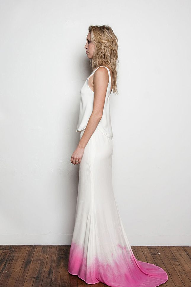 Beyond White: 15 Ombre Wedding Gowns | Gowns, Weddings and Wedding ...
