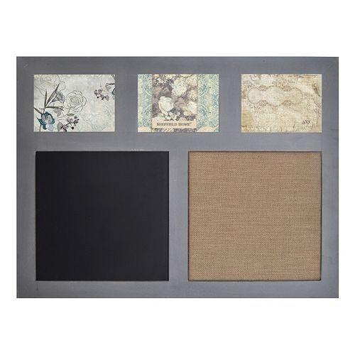 Sheffield Home Chalkboard and Memo Board 3-Opening Frame | Creative ...