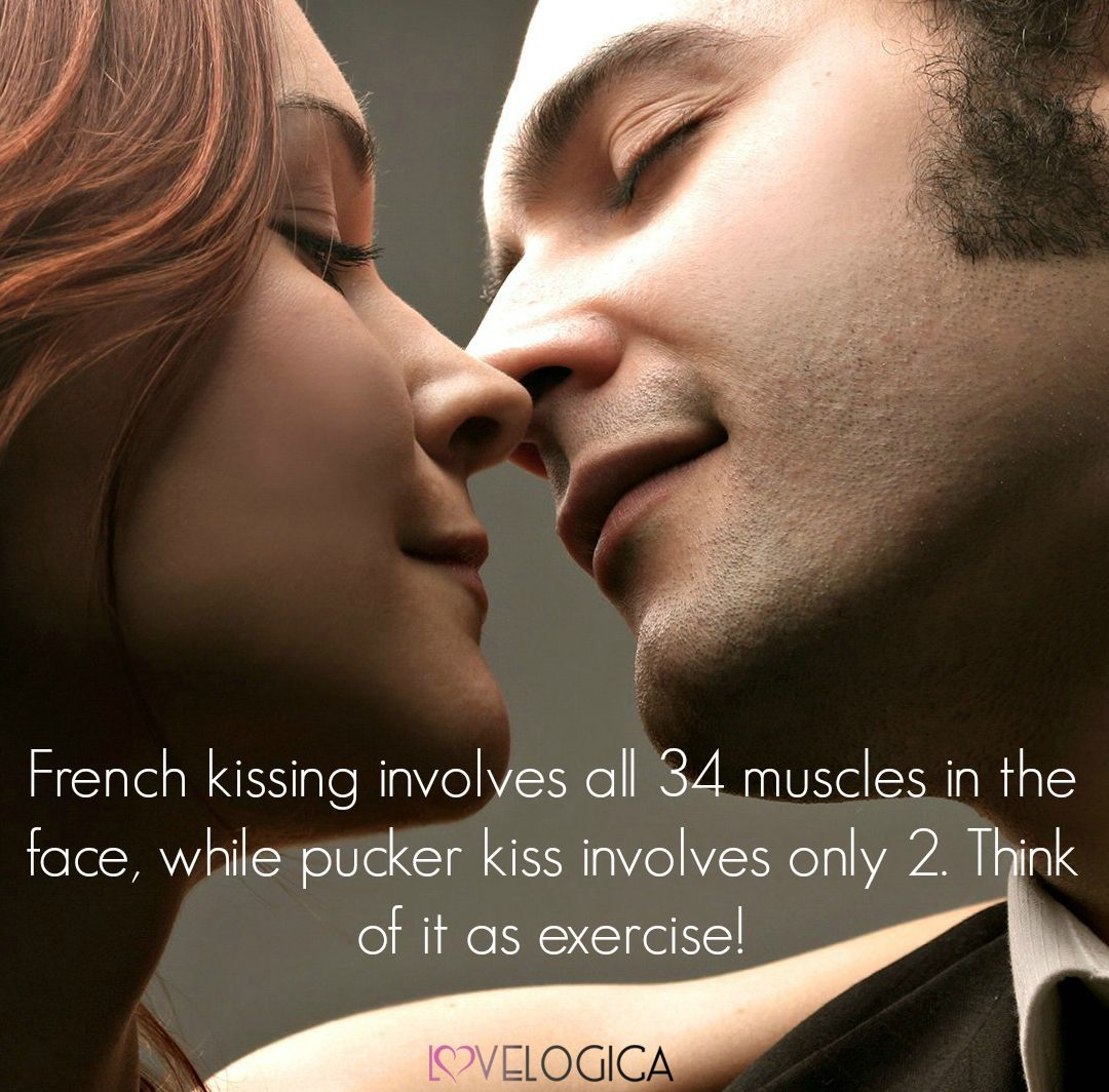 the benefit of french kissing exercise