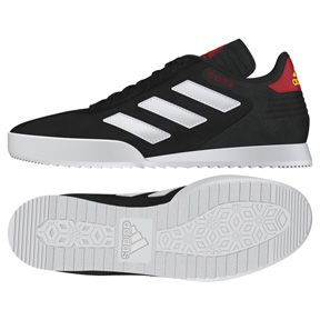 Adidas Copa Super Indoor Soccer zapatos (Black / blanco / red): https: / / www