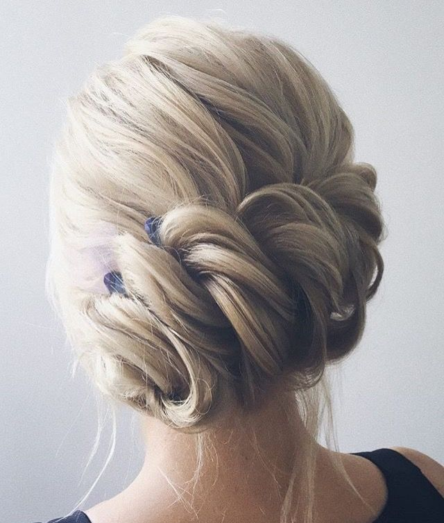 A Beautiful twisted updo