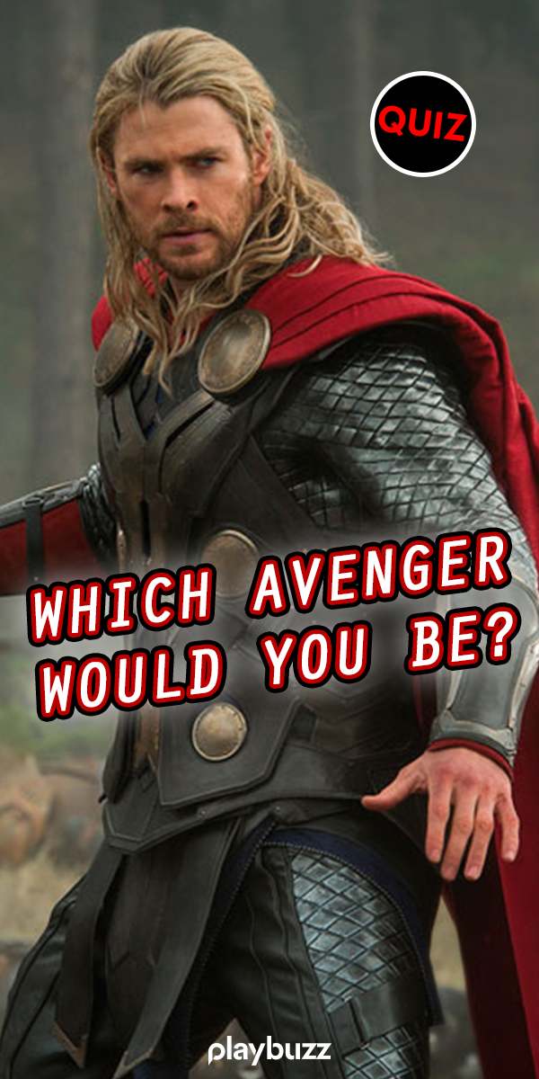 Which Avenger Would You Be? | Superheroes | Avengers quiz