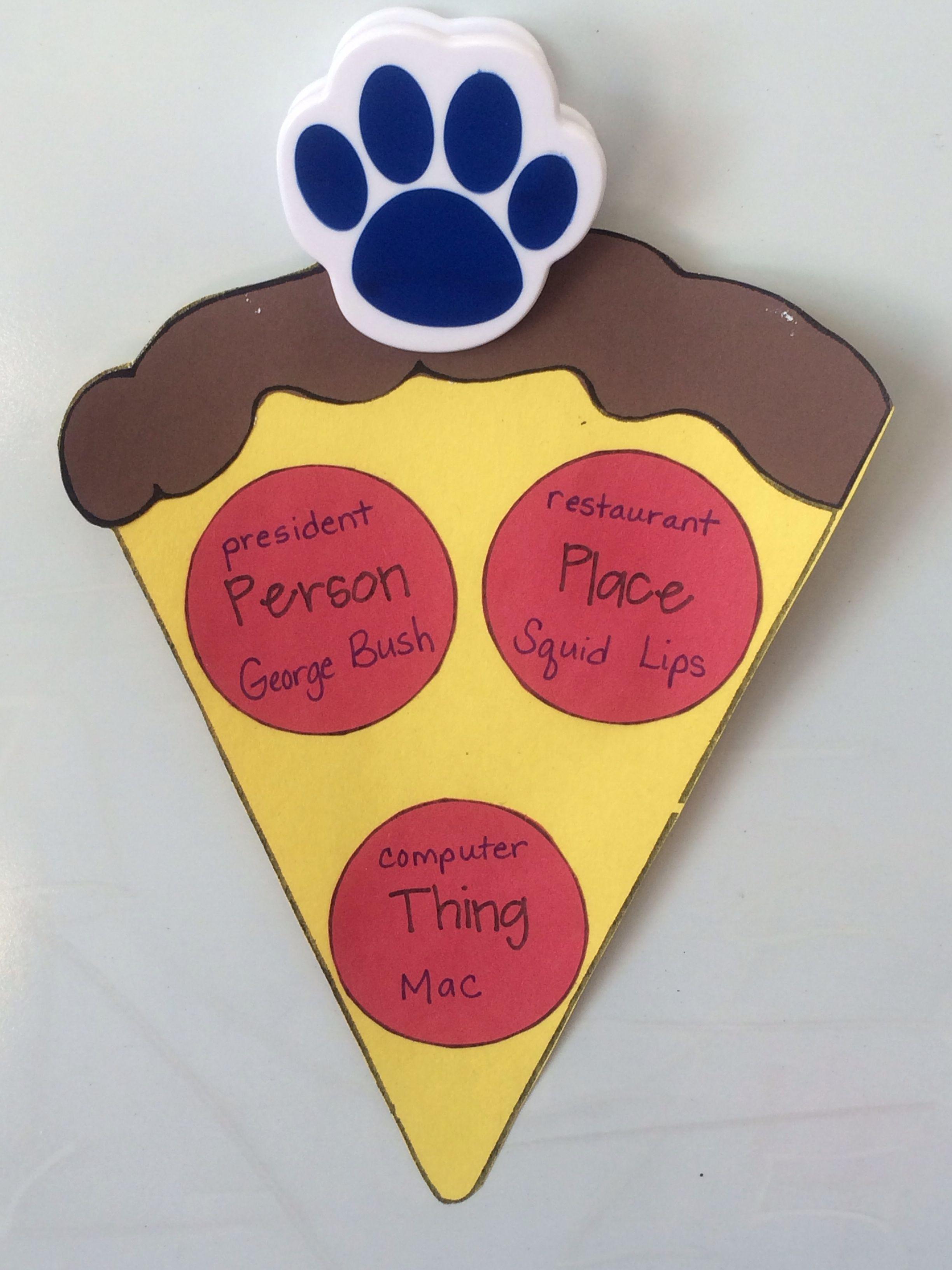 Common And Proper Noun Pizza Classroom