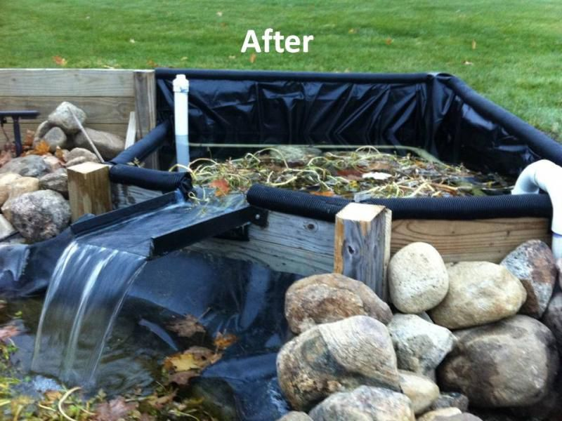 After jpg pond bog filter ideas and designs pinterest for Pond filter system diy