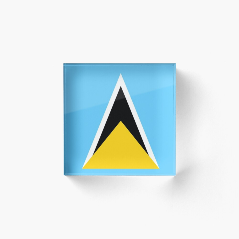 Saint Lucia Flag Saint Lucian Flag Gifts St Lucia Gifts By Gracetee Redbubble In 2020 St Lucia Flag Saint Lucian Flag Flag Gift