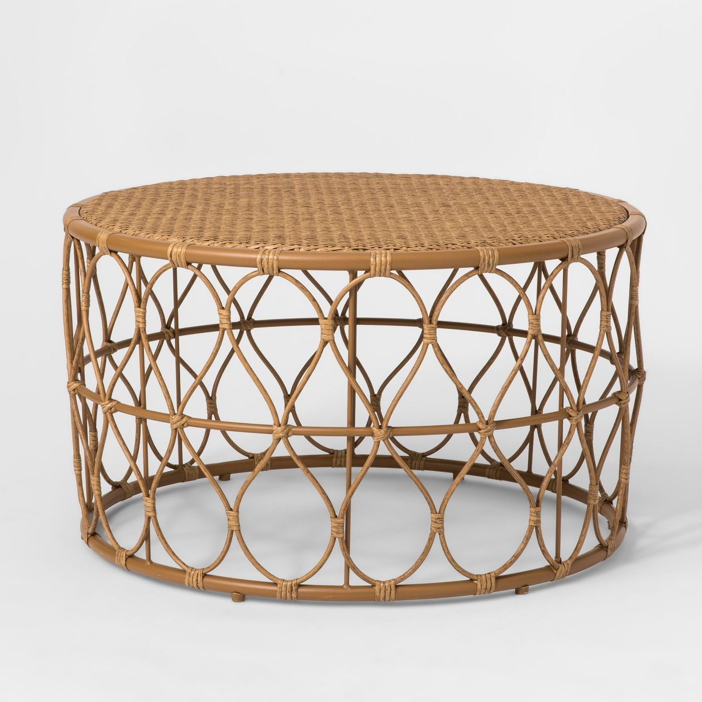 Britanna Patio Coffee Table Opalhouse Image 1 Of 3 Wicker Coffee Table Patio Furniture Collection Outdoor Coffee Tables [ 1400 x 1400 Pixel ]