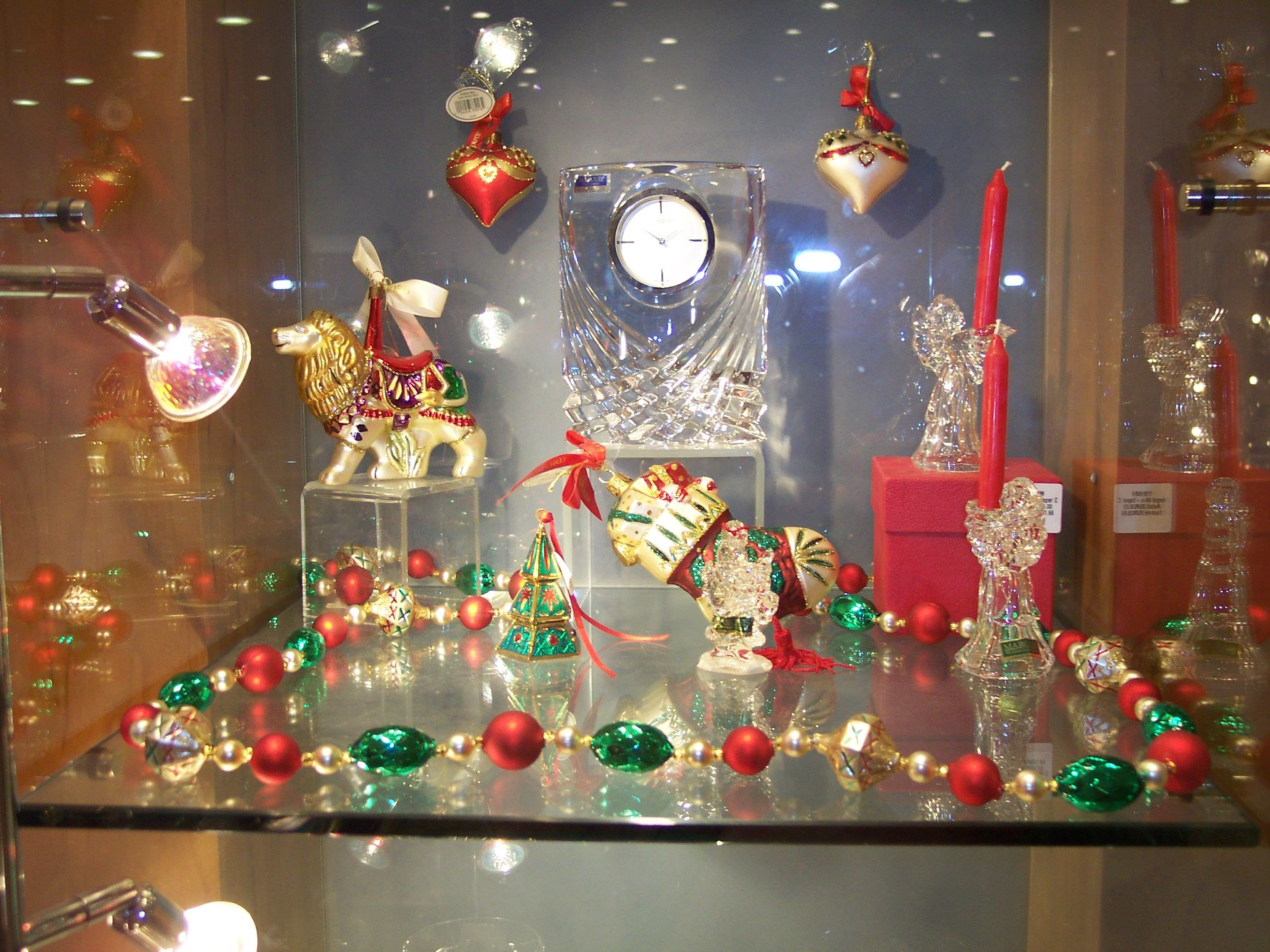 Crystal Decorations For Home Waterford Crystal Christmas Decorations Just Gorgeous