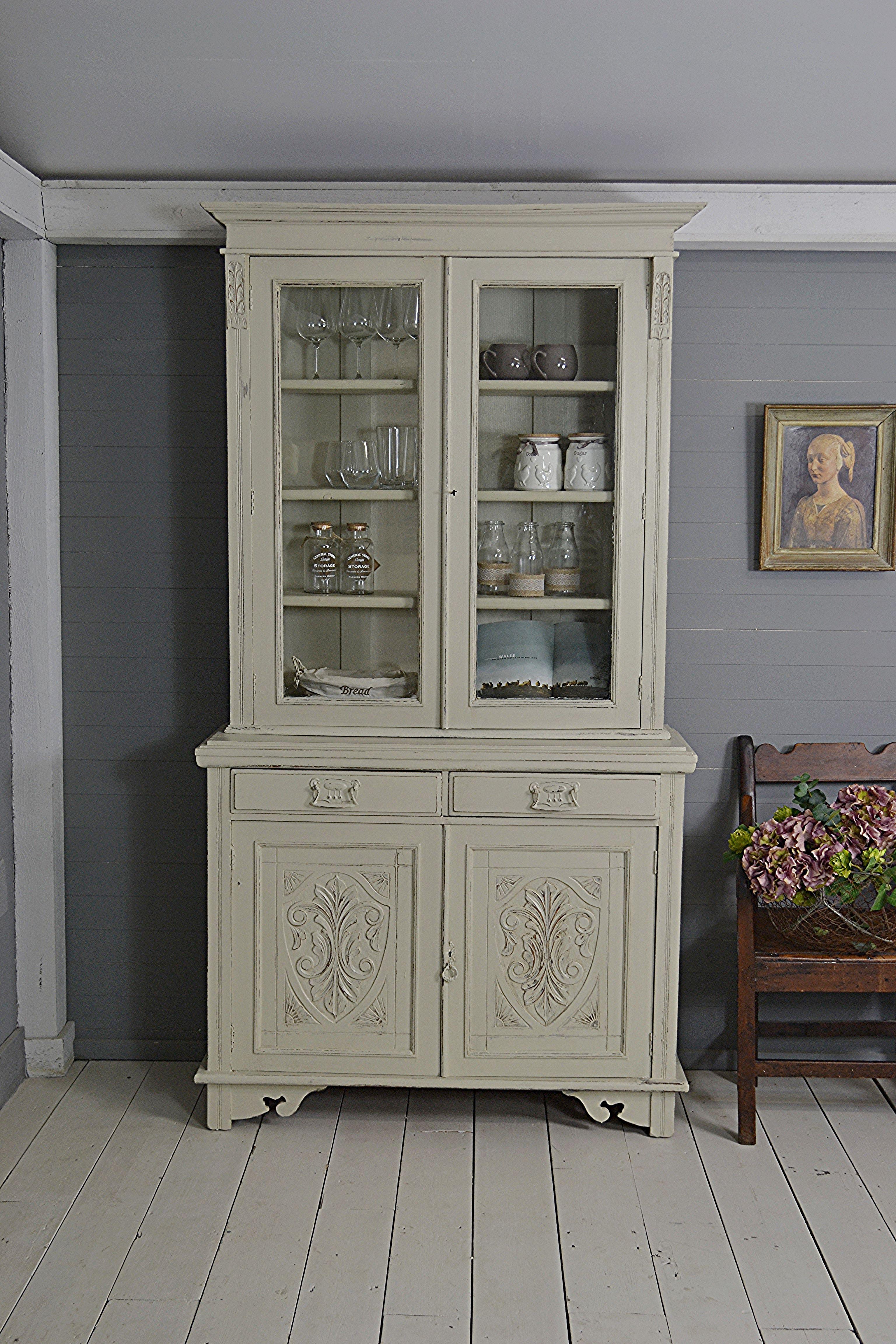 Letstrove Painted In Farrow Kitchen Dressershabby Chic Dressersvictorian