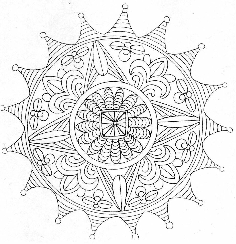 Bfbfjr Mandala Kleurplaten Kleurplaten Mandala