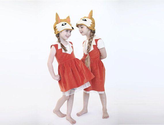 Halloween Kids Fox costume, Girls fox dress up, Halloween girl - halloween costume girl ideas