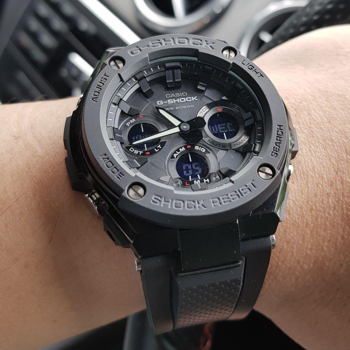 Casio GShock GSTS100G1B G shock, Casio, Adventure watches