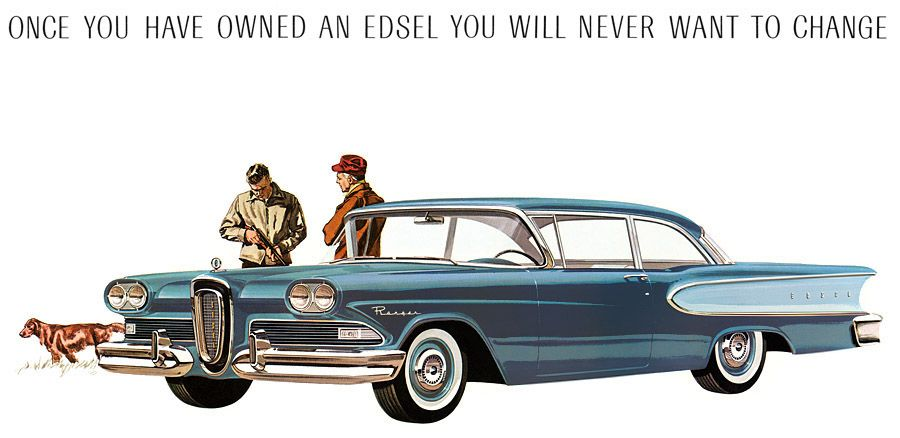 """""""Once you have owned an Edsel, you will never want to change"""": 1958 Edsel Ranger…"""