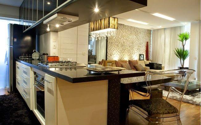 Cozinha corredor veja lindos modelos para apartamentos for Modelos de cocinas pequenas para apartamentos