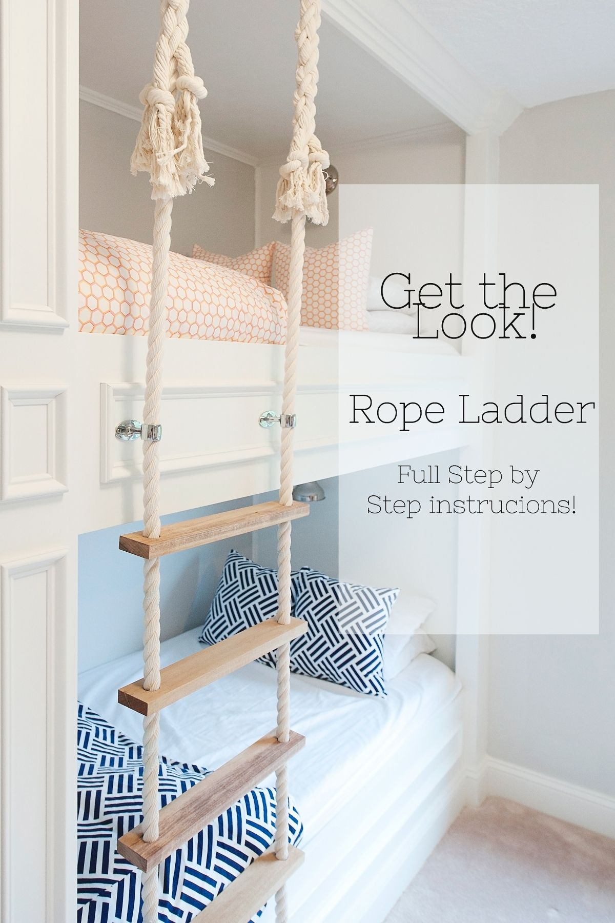 This Post Is A Full Tutorial Of The Rope Ladder We Made
