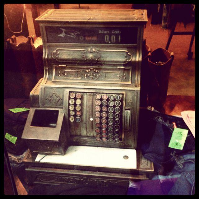 Old school cash register.