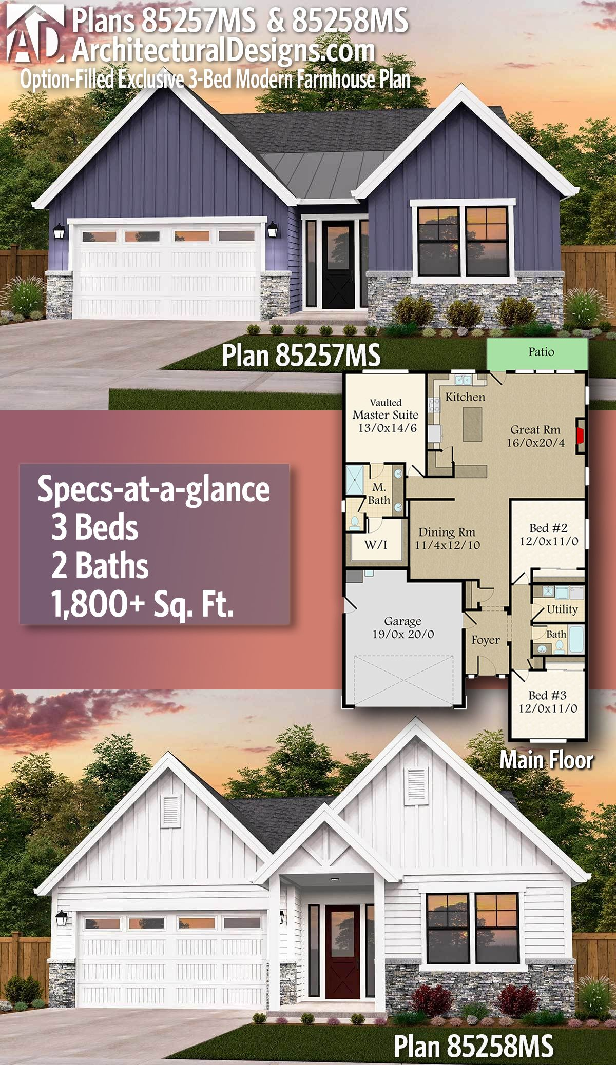 18++ Affordable modern farmhouse plans info