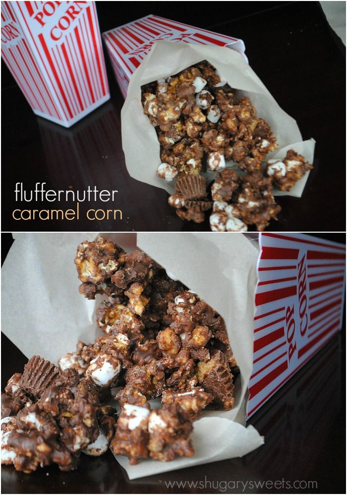 Fluffernutter Caramel Corn This time I made my caramel