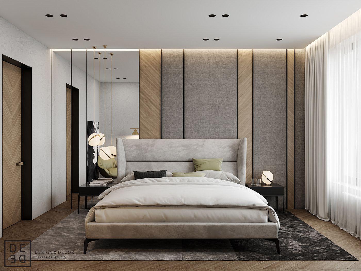 De De Eco Minimalism Apartment On Behance Luxurious Bedrooms Bedroom Deco Bedroom Interior