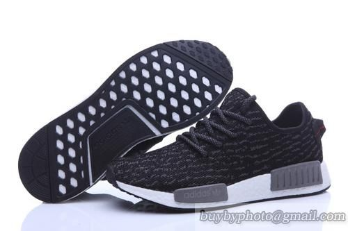 Mens Adidas #NMD #Runner 2 #Primeknit NMD R2 Yeezys Knit Shoes Black Gray