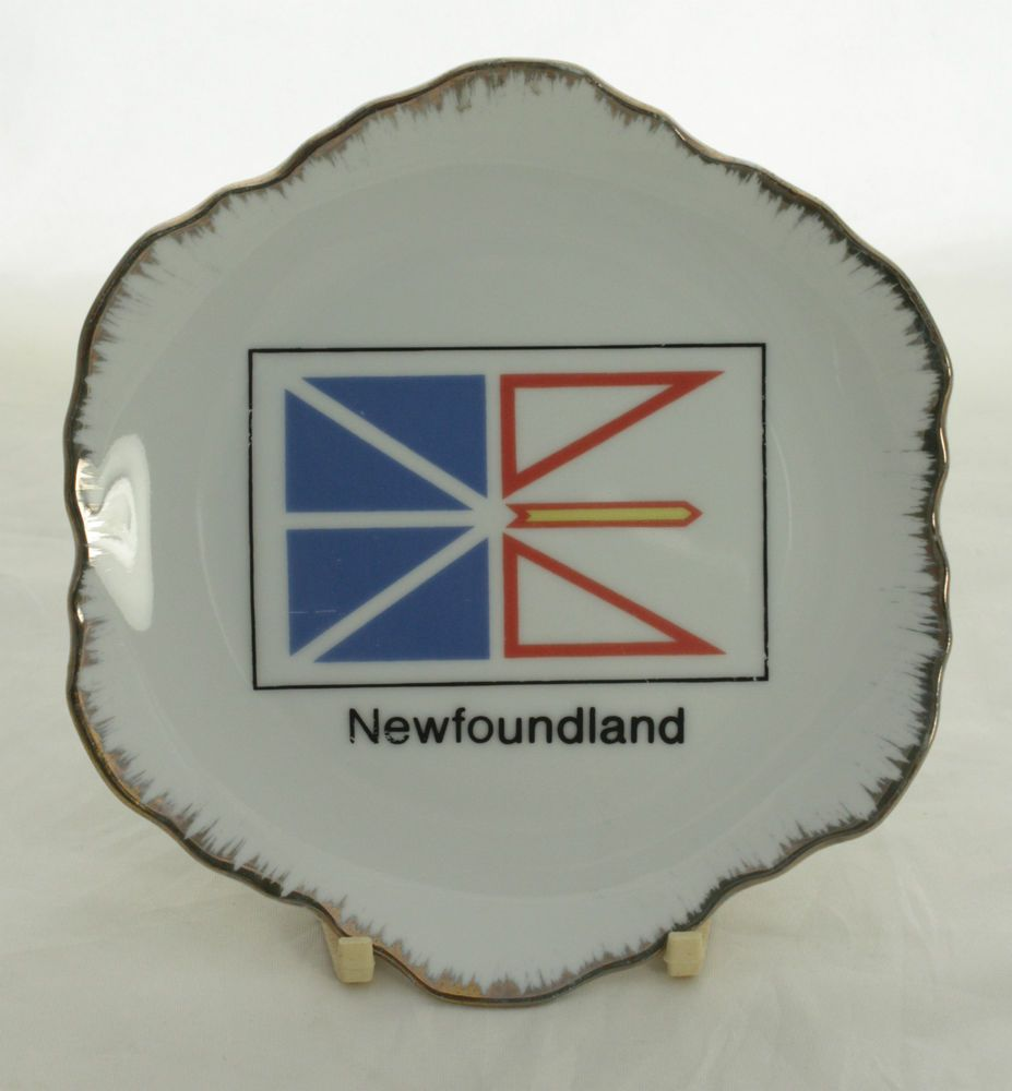 Details about Vintage Decorative Wall Plate Newfoundland Canada ...