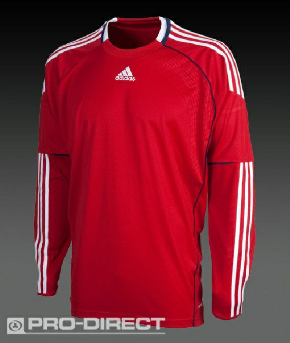 didas Teamwear - Boys - Condivo - Goal Keeper - Game Jersey - University  Red   White   New Navy  e28aff8c3