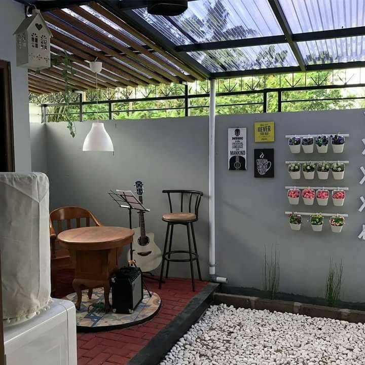 Inspirasi Dapur Yg Menyatu Dengan Taman