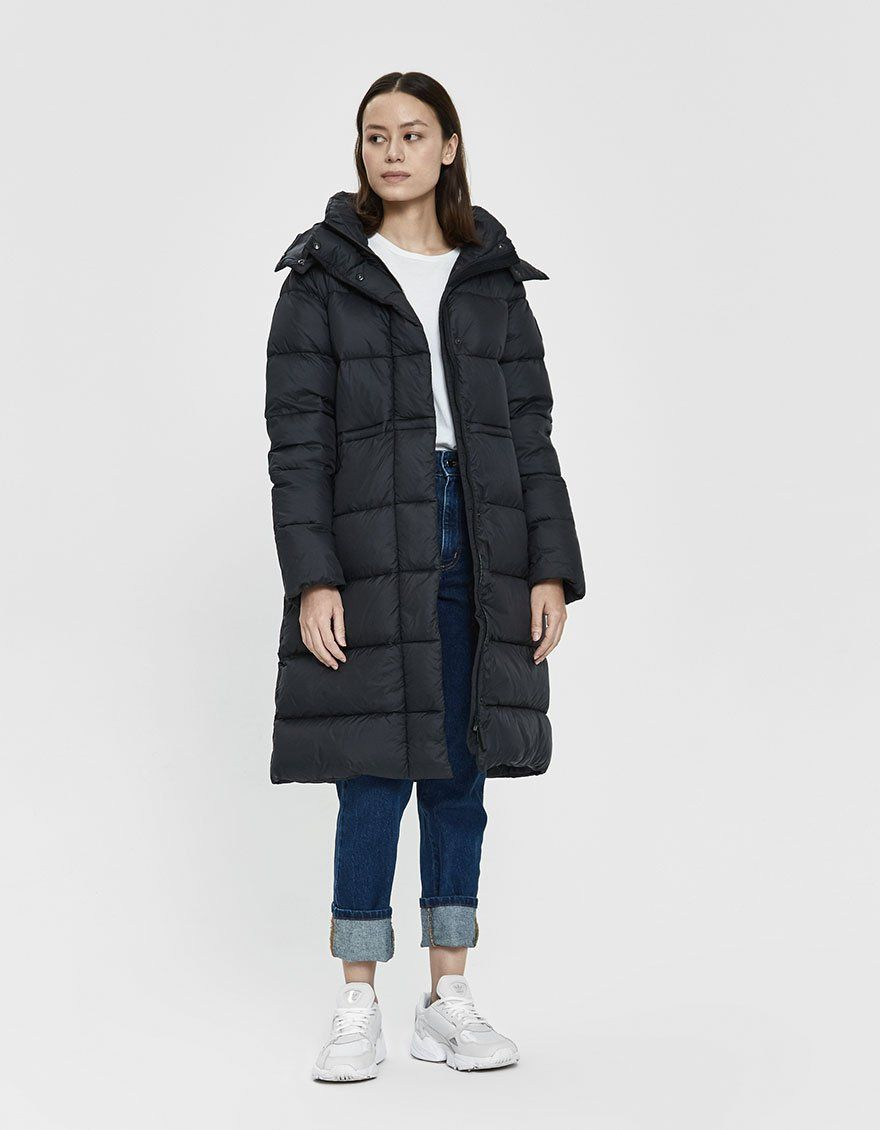 Canada Goose Arosa Quilted Down Parka In 2020 Down Parka Canada Goose Women Long Puffer Coat
