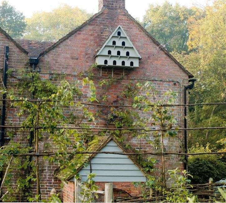 Dove Cote Integrate Into Chimney Walls Cottage Garden English Country Gardens Bird Houses
