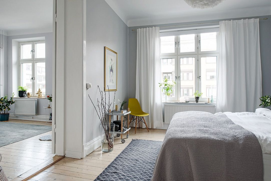 Bright And Airy Swedish Apartment Proves Small Can Feel Spacious Gallery