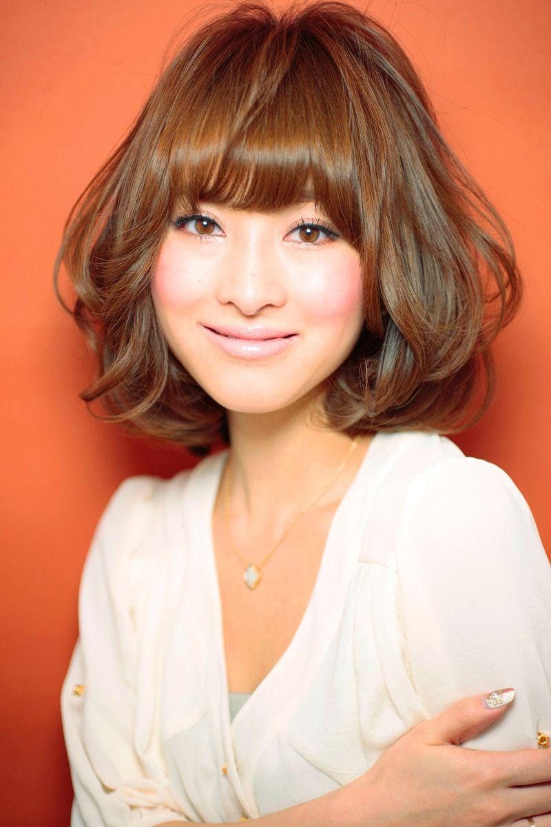 美髪の法則csecretのヘアスタイル medium length hairstyles