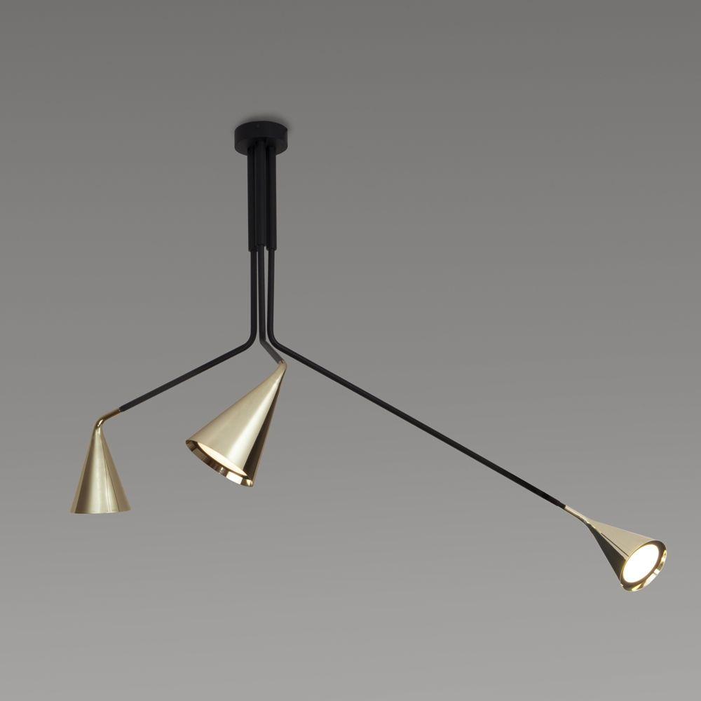 gold 3 lampen halterung