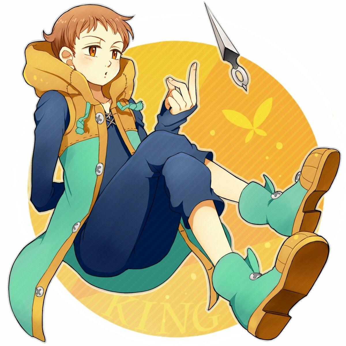Pin by 『Darkness Fox 』 on King Pinterest Anime, Manga