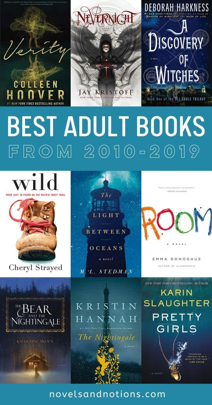 The Best Adult Books From the Last Decade! | Novels and Notions