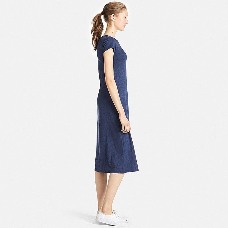 e573332e3774f WOMEN SHORT SLEEVE LONG BRA DRESS
