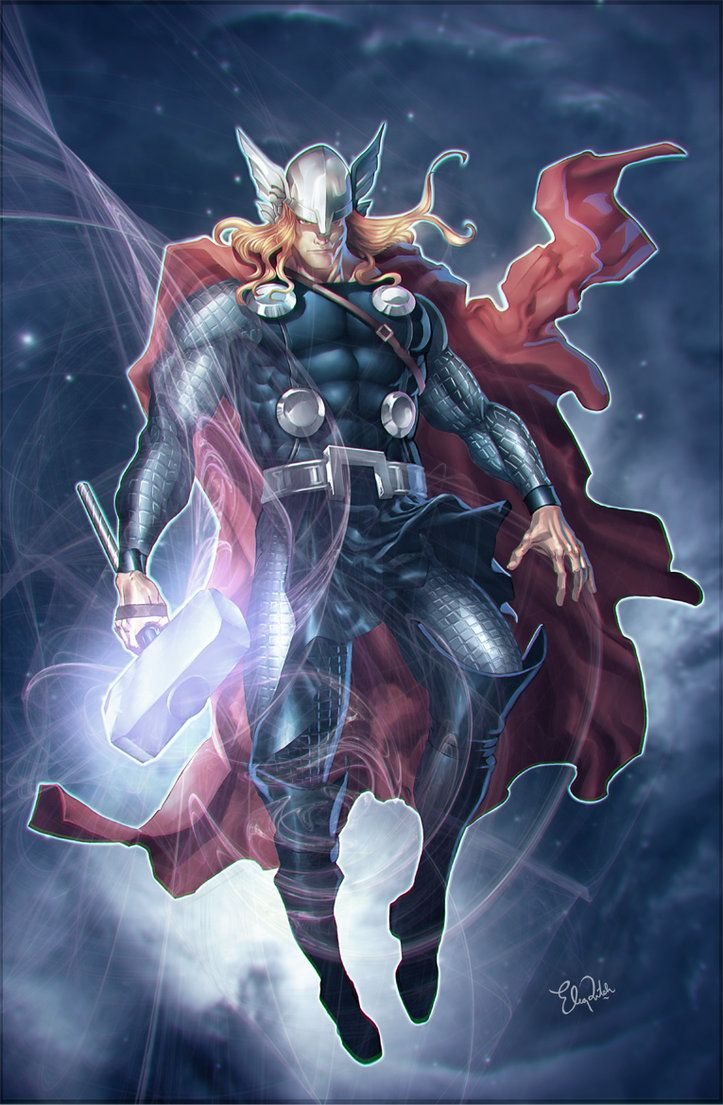Thor fan work for total film magazine indonesia thor - Thor art wallpaper ...