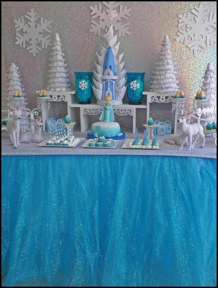 Disney Frozen Birthday Party Ideas Disney frozen birthday Disney