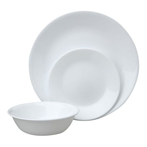 Best Dinnerware Sets For Everyday Use 3. Corelle Livingware 12 Piece Dinnerware Set  sc 1 st  Pinterest & Best Dinnerware Sets For Everyday Use: 3. Corelle Livingware 12 ...