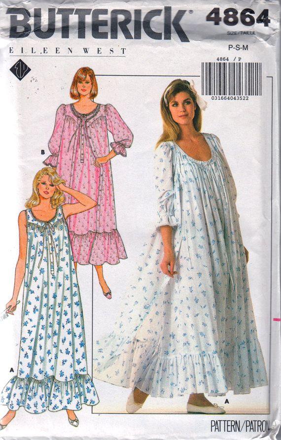 Right! So. vintage nightdress pattern