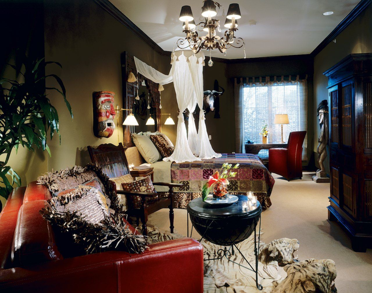 Hotel Zaza Dallas Concept Suite Out Of Africa Luxurious