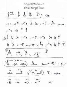 yin  yang yoga sequence  yoga asanas yin yoga sequence