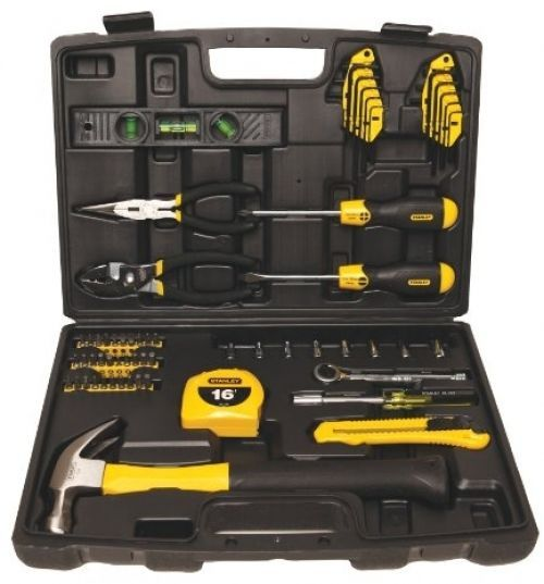 Stanley 94-248 65-Piece Homeowner\'s Tool Kit DIY Set Father Gift ...