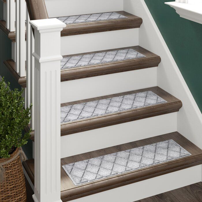 Best Beaupre Gray Stair Tread In 2019 Stair Treads Carpet 400 x 300